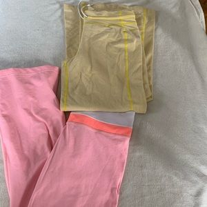 Vintage lululemon wide leg yoga pants size 8